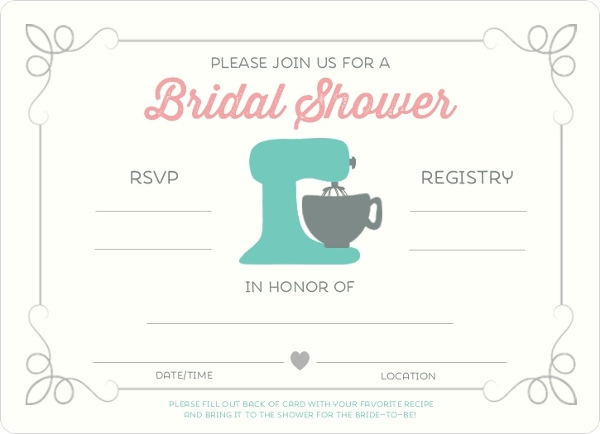 Retro kitchen recipe fill in the blank bridal shower invitation retro kitchen recipe fill in the blank bridal shower invitation filmwisefo