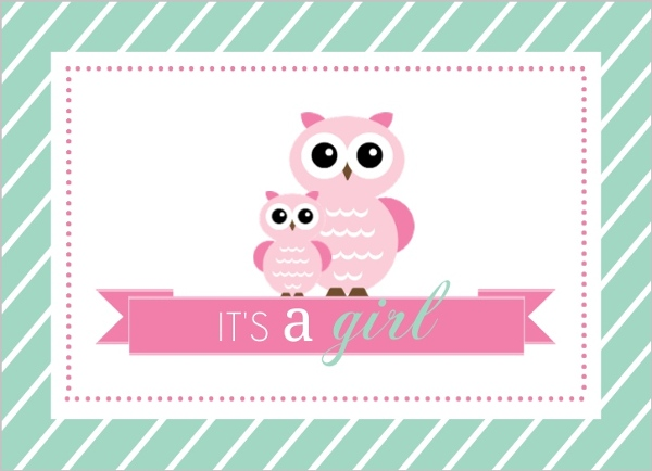 Mint and pink owls girl baby shower fill in the blank invitation mint and pink owls girl baby shower fill in the blank invitation filmwisefo