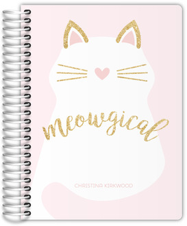 Meowgical Cat Teacher Planner
