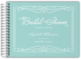 Something Blue Bridal Shower Guest Book