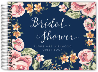Floral Garden Bridal Shower Guest Book