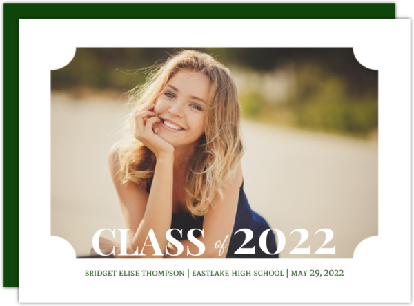 Classic Frame Graduation Announcement