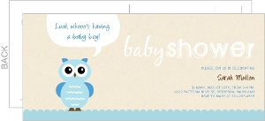 Owl baby shower invitations baby boy owl baby shower invitation filmwisefo Image collections