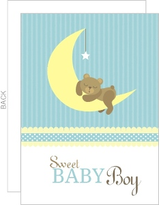 Kathryne's baby shower invitation