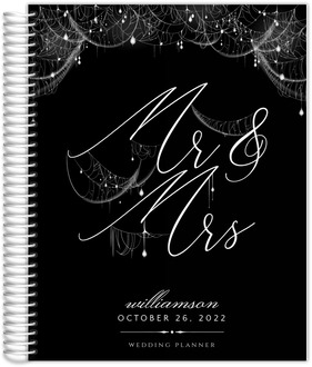 Elegant Spider Web Sparkles Wedding Planner
