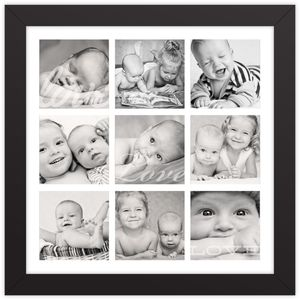 Photo Collage Memories Framed Print