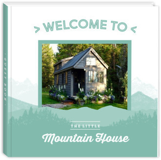Mountains Photo Vacation House Guest Book