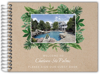 Kraft Palm Leaves Vacation Home Guest Book