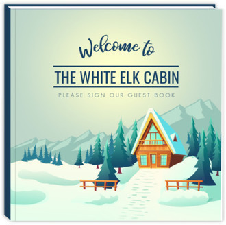 Mountain Cabin Vacation Home Guest Book