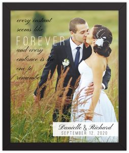 Forever Moment Framed Print
