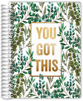 You Got This Foliage Daily Planner