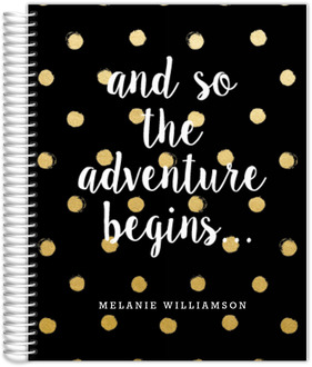 Adventure Begins Polka Dot Wedding Planner