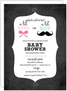 Gender Neutral Baby Shower Invitations