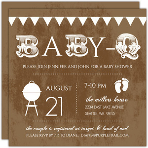 Couples Baby Shower Invitations Coed Baby Shower Invitations
