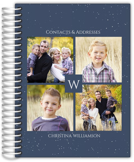 Quad Photo Initial Address Book