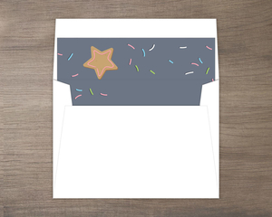 Frosted Cookie Decorating Envelope Liner