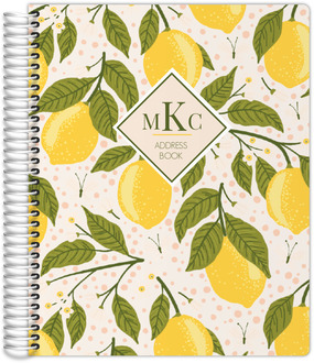 Lemon Vine Address Book