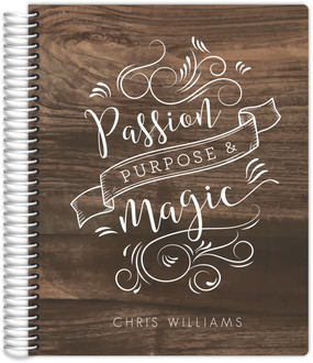 Passion Purpose Magic Custom Journal