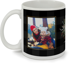 Whimsical Foliage Holiday Custom Mug