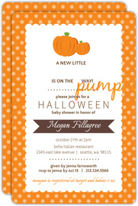 Halloween baby shower invitations filmwisefo Image collections