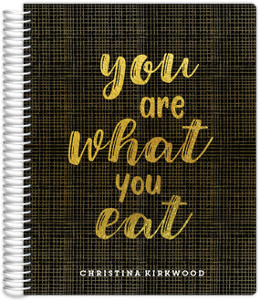 You Are What You Eat Meal Planner 8.5x11