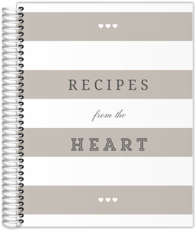 Modern Stripes Kitchen Custom Journal