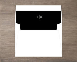 Beautiful Formal Double Frame Envelope Liner