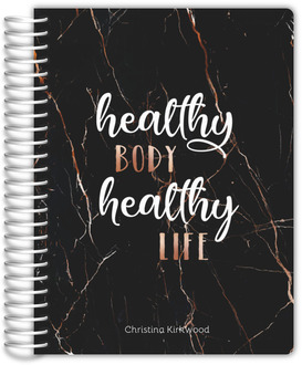 Healthy Body Healthy Life Fitness Planner