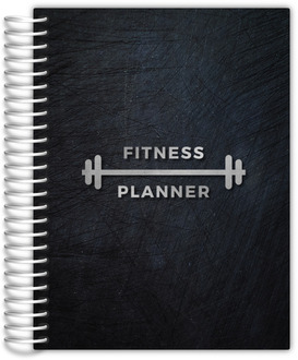 Silver Barbell Fitness Planner