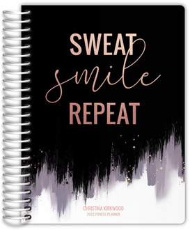 Sweat Smile Repeat Fitness Planner