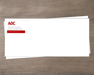 Minimal Color Business Envelope