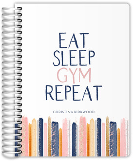 Eat Sleep Gym Fitness Planner