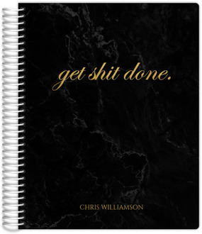 Marbled Get It Done Fitness Planner