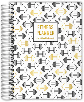 Real Foil Weight Pattern Fitness Planner