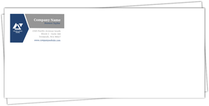 Simple Dual Color Business Envelope