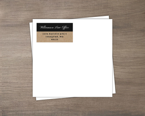 Kraft Calendar Business Envelope