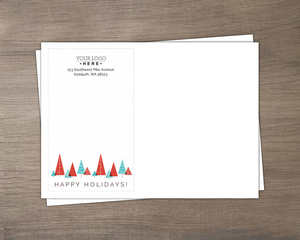 Modern Geometric Trees Business Envelope