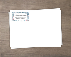 Holly Framed Business Envelope