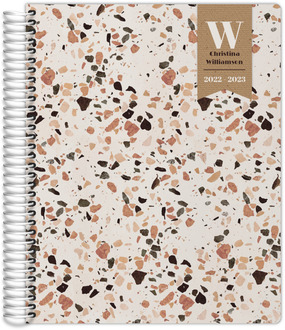 Crushed Quartz Pattern Custom Daily Planner