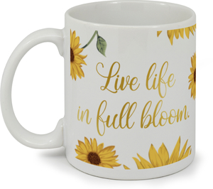 Sunflower Bloom Coffee Mug