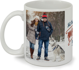 Adventures Begin Custom Mug