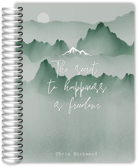 Watercolor Mountains Student Planner