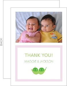 Two Little Peas Thank You