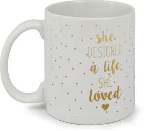 Life She Loved Custom Mug