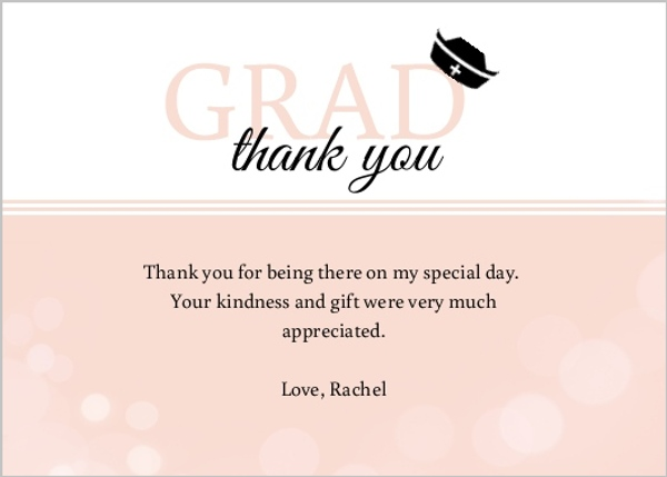 graduation thank you cards templates