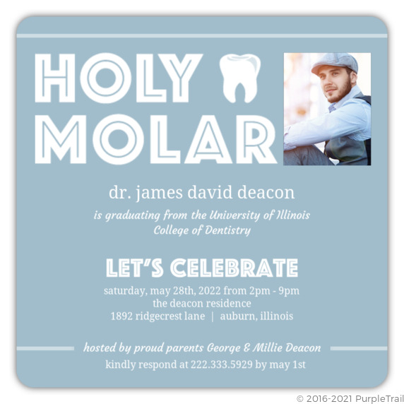 Holy molar dental school graduation invitation dental school holy molar dental school graduation invitation filmwisefo