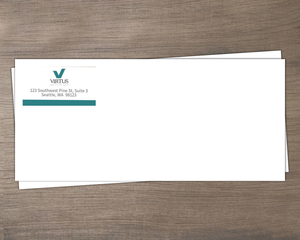Logo Color Palette Business Envelope