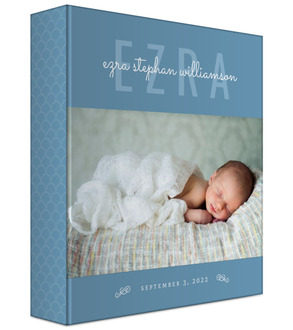 Modern Baby Photo Keepsake Binder