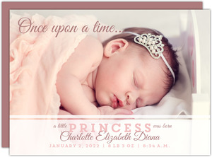 Little Princess Birth Announcement