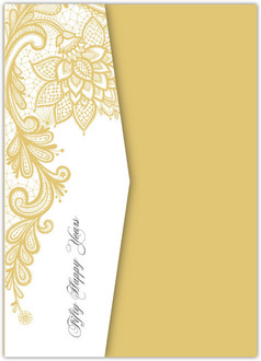 50th anniversary invitations elegant lace golden pocketfold anniversary invitation stopboris